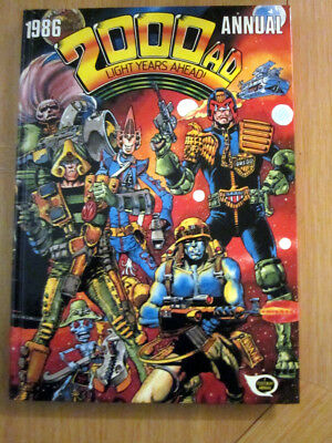2000 AD ANNUAL 1986   NEW    :  excellent condition from comic collector.