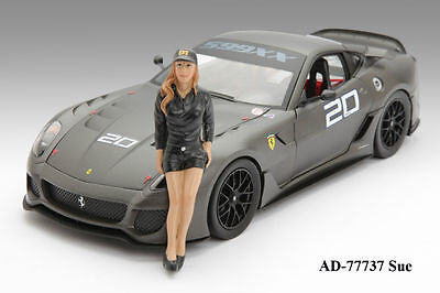 Race Car Driver Sue - 1/18 figure - American Diorama