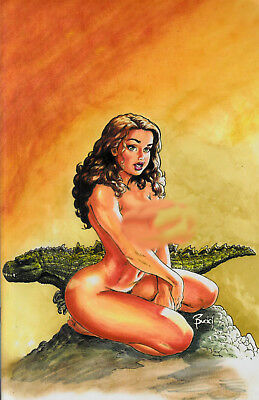 Cavewoman RAPTORELLA 2 E Budd Root Special Edition VF+/NM+ limited to 500 print
