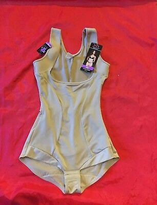f9a99c343ab96 Maidenform Flexees Shapewear Body Suit Wear Your Own Bra Romper Size 9 2XL  NWT