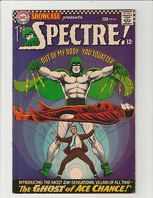 Showcase #64 (DC 1966) Early Appearance of Silver Age Spectre FN
