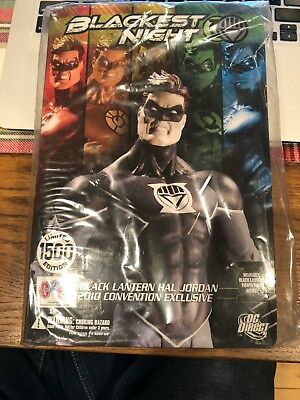 DC Direct Lot C2E2 2010 BLACKEST NIGHT BLACK LANTERN HAL JORDAN sdcc