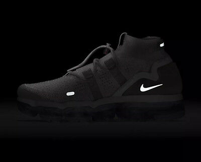 "Nike Air Vapormax Flyknit Utility ""moon"" Running Shoes Sneaker Ah6834-205 12"