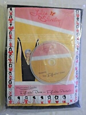 Lydia Silvestry Infinite Dress Size M Black Super Stretch New with DVD guide