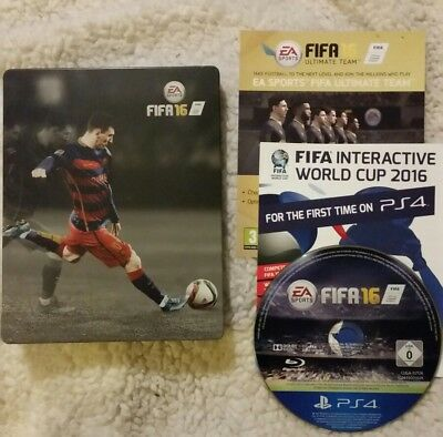 PS4 FIFA 16 Playstation 4 Steelbook Edition PS4  EXCELLENT CONDITION