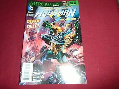 AQUAMAN #16 New 52 Geoff Johns DC Comics 2012 NM