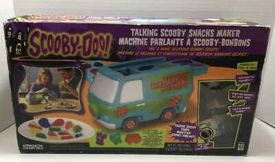 Scooby Doo Talking Scooby Snacks Maker Rare New sealed Cartoon Network