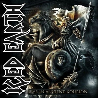 live in ancient kourion ICED EARTH 2 cd + dvd  ( free shipping)