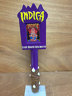 """Lost Coast Brewery Indica Tap Handle Eureka,CA NEW In BOX & Free Ship ~ 11"""" Tall"""