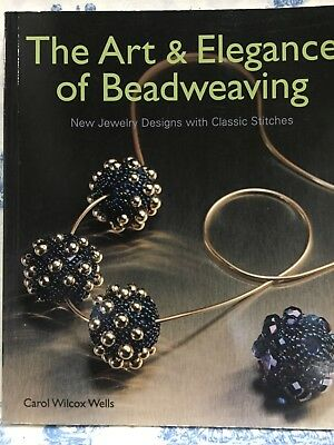 The Art and Elegance of Beadweaving: New Jewellery Designs with Classic Stitches