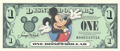Disney Dollars - $1 2003 D Series Mickey Mouse Uncirculated