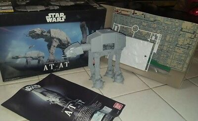 BUILT - Bandai Hobby Star Wars 1/144 AT-AT Walker Building Kit - FREE US SHIP