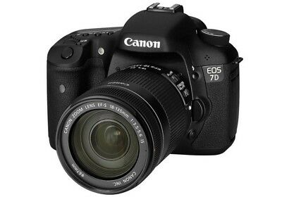 Canon EOS 7D 18.0MP Digital SLR Camera - Black (Kit w/ EF-S IS STM 18-135mm...