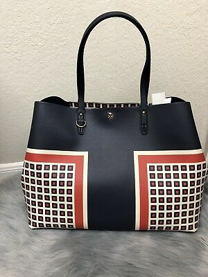 276d8234d1f NWT Authentic TORY BURCH KERRINGTON SQUARE Tote MILANO SQUARE 52773