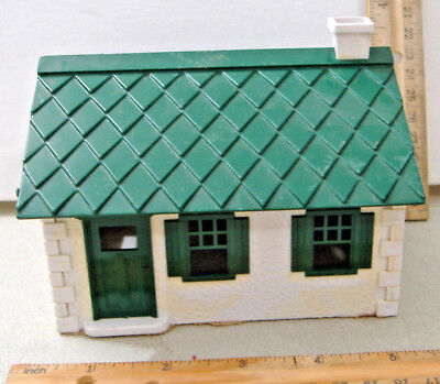 Plasticville Bank Front Door Canopy Green HTF O-S Scale