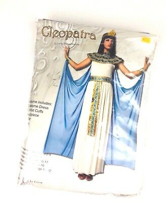 Cleopatra Queen of Nile Egyptian Ancient Egypt Roman Deluxe Womens Costume
