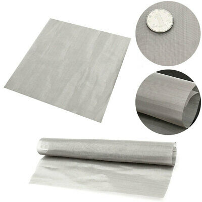 #165 Superfine Stainless Steel Mesh Fabric BARGAIN LISTING 0.065mm Wire