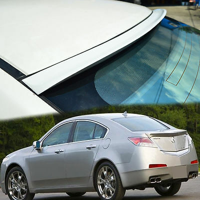PAINTED COLOR #NH731P ACURA TL  4TH K TYPE REAR WINDOW ROOF SPOILER WING