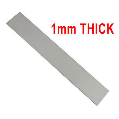 "Pure Nickel Anode-1""X 6""X 0.04"" 99.6% For DIY Nickel Plating And Electroplating"