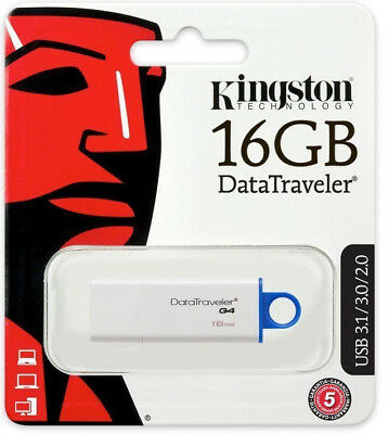 Kingston 16GB DataTraveler DTIG4 USB 3.1 Stick Flashdrive SpeicherStick DE/OVP