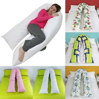 9ft/12ft U Shaped Pillow -Total Body Comfort Ideal for Pregnancy & Maternity Use