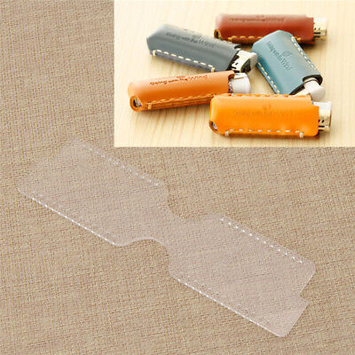 DIY Mini Bag Case for Lighter Template Acrylic Leather Pattern Stencil Handcraft