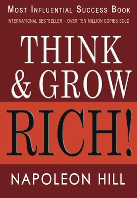 Think and Grow Rich (Paperback) by Napoleon Hill Most Influencial Success Book