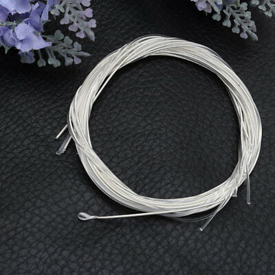 6x Nylon Silver Strings 1m Gauge Set Classical Classic Guitar Acoustic Wound