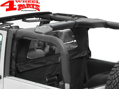 Windjammer Windschott Verdeck Black Diamond Jeep Wrangler JK Bj. 07-18 2-Türer