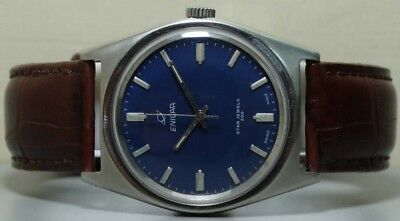 Superb Vintage Enicar Winding Swiss Made Mens Wrist Watch s209 Old Used Antique
