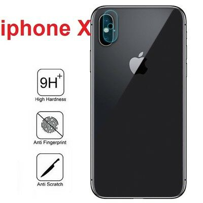 2 X Back Rear Camera Lens Tempered Glass Film Protector For Apple iPhone X / XS