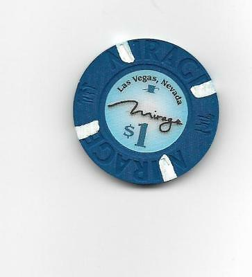 The Mirage $1 Casino chip  uncirculated condition!