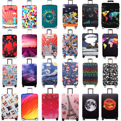 Elastic Protective Luggage Suitcase Dust Cover Protector Anti Scratch 18-32Inch