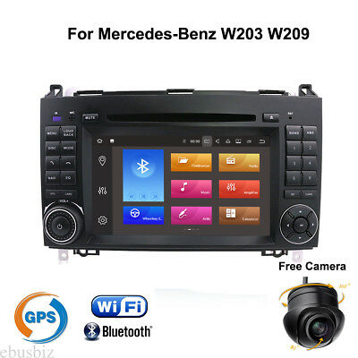 Android 7.1 Car DVD Stereo GPS Player USB Radio Wifi for Mercedes Benz W203 W209