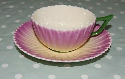 Laura Ashley Hand Decorated China Lilac Flower Cup & Saucer.