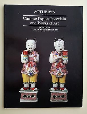 Sotheby's Chinese Export Porcelain & WOA 1990 LONDON Ceramics