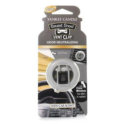 Yankee Candle New Car Cent vent clip Autoduft