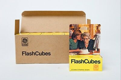 GE FlashCubes - pack of 3 cubes - Brand new old stock!