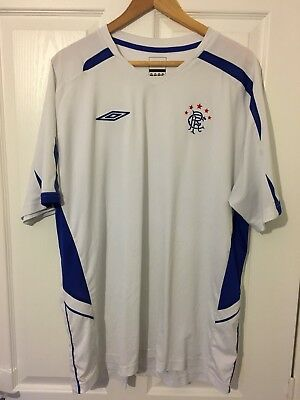 2011/2012 Glasgow Rangers away training football shirt XXL men's Umbro Gers