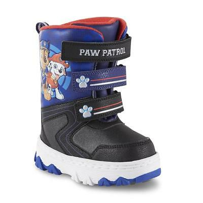NEW NWT Boys Nickelodeon Snow Boots Paw Patrol Size 6 7 or 12 Chase