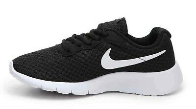 fb03cc565c8 NEW NIKE TANJUN (PS) Young Kids Black White (818382-011) Shoes ...