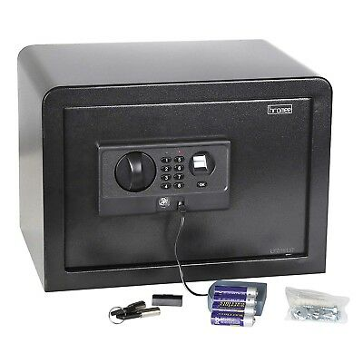 Fingerprint Safe Box Lock Home Jewelry Document Security Cash Wall Mount Digital