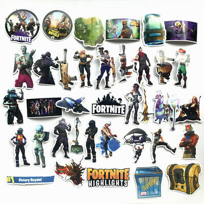104PC Fortnite Stickers (Variety Pack, Waterproof)--Good Quality,Free Shipping!