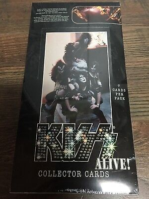 Kiss Alive Collector Cards Box 36 Packs