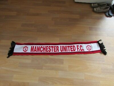 Original Official Early Style MANCHESTER United fc Football Scarf