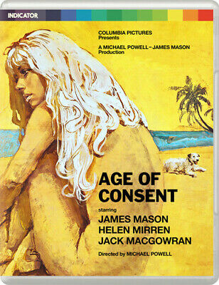 Age Of Consent [New Blu-ray] Ltd Ed, NTSC Region 0, UK - Import