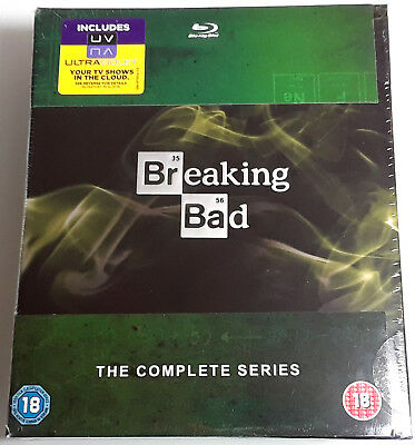 BREAKING BAD THE COMPLETE SERIES Brand New BLU-RAY Set ALL 5 SEASONS 62 Episodes
