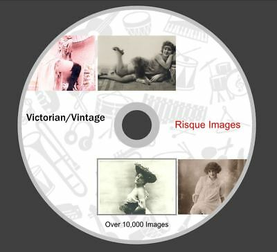 Vintage Risque Portraits Prints Victorian Edwardian Images 10,000+ Crafting
