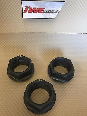 3 McLaren LOLA CAN-AM F5000 STEEL WHEEL NUTS EXCELLENT USED CONDITION