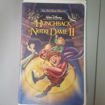 The Hunchback of Notre Dame II (VHS, 2002)